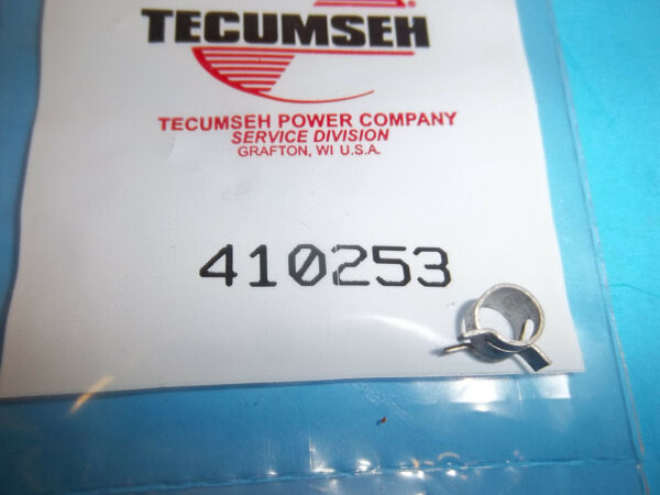 TECUMSEH 18 FUEL LINE CLAMP FITS FC200 TC300 2 CYCLE FITS SNOW BLOWERS  410253