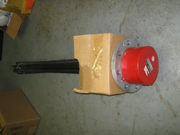 Chromalox Flanged Immersion Oil Heater TMO-6205 1 or 3 Phase 240V 20KW New