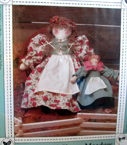 Hearts Content cloth prairie doll pattern 12