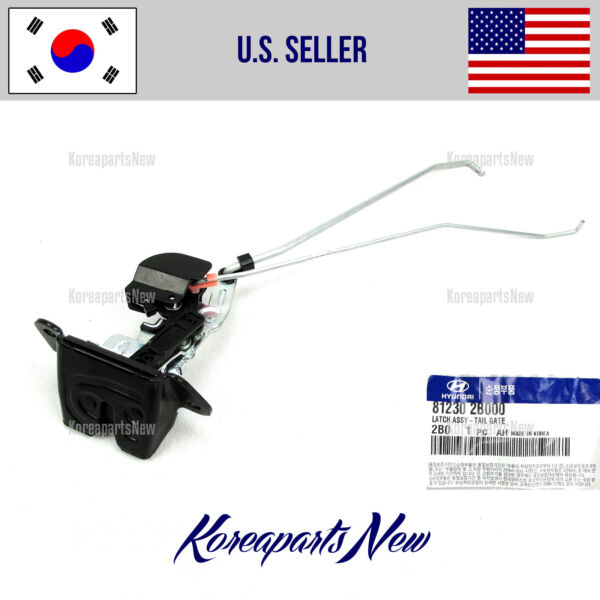LOCK LATCH TAIL GATE (GENUINE) 812302B000 HYUNDAI SANTA FE 2007-2012