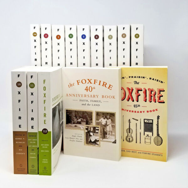 Foxfire Series Collection Set 1-14! 1-12 Plus 40 & 45 Anniversary Books! NEW