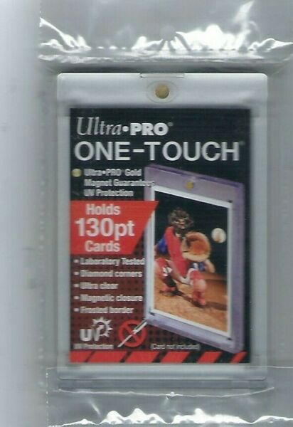 Ultra Pro 1 One Touch Magnetic Card Holders 130pt
