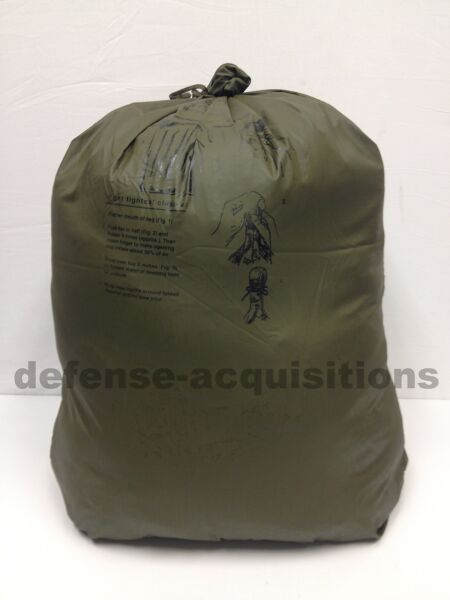 NEW US Military Waterproof Dry Bag Pack Liner Wet Weather Bag Size 3 LARGE