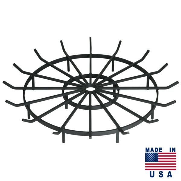 SteelFreak Wagon Wheel Grate for Outdoor Fire Pits - Made in USA