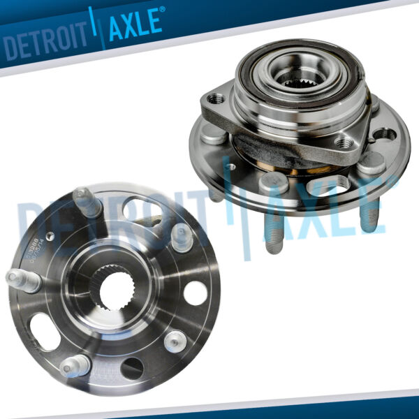 2 Front or Rear Wheel Bearing Hubs for Chevy Equinox GMC Terrain Buick Lacrosse $94.50