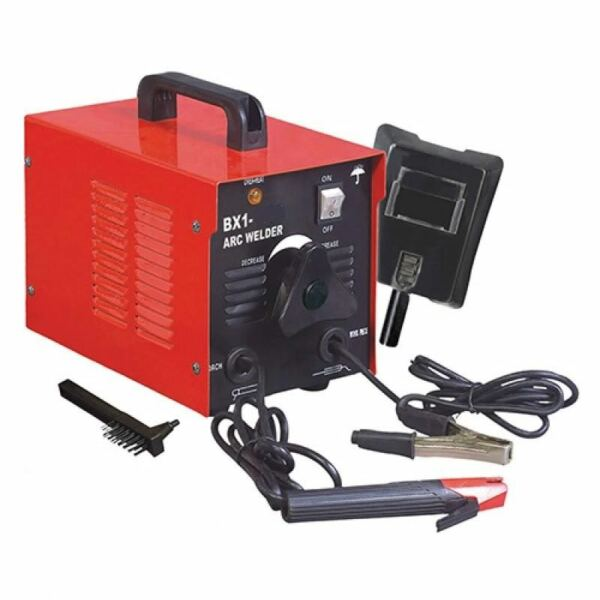 110V Arc Welder 100 Amp Rod Stick Welding Kit w/ Mask & Chipper Brush FREE SHIP!