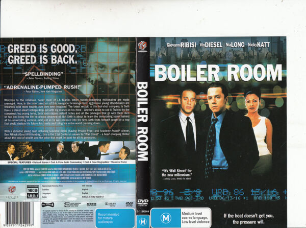 Boiler Room-2000-Giovanni Ribisi-Movie-DVD