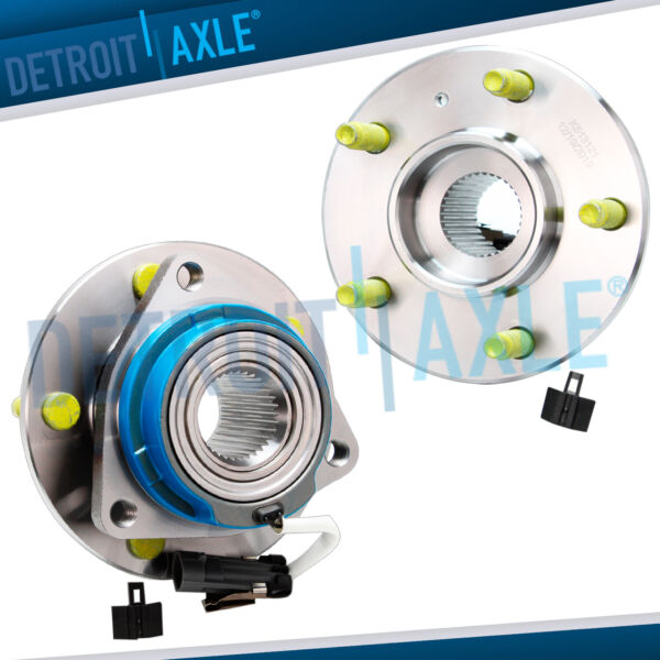 Pair 2 New REAR Wheel Hub Bearing Assembly for Chevrolet Venture ABS w AWD $69.27