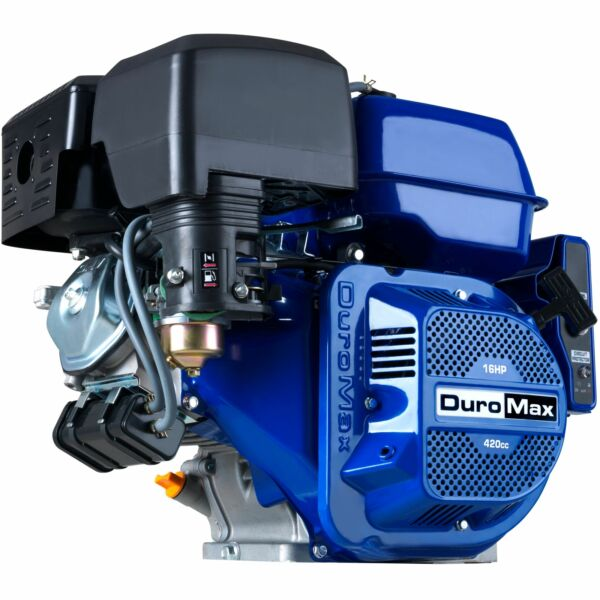 DuroMax XP16HPE 420cc 1quot; Recoil Electric Start Horizontal Gas Powered Engine $399.00
