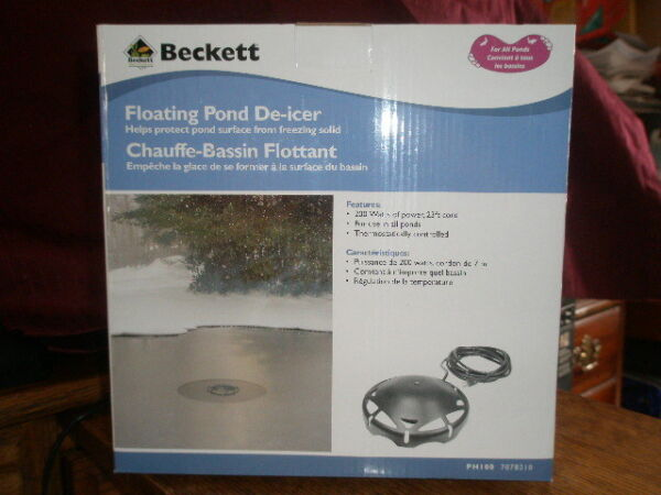 Beckett 7078210 Pond De-Icer And Heater 200-Watt