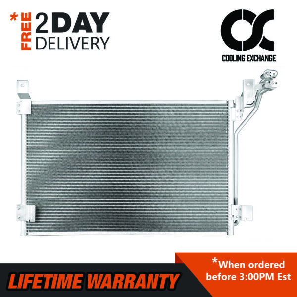 New Condenser For Crown Victoria Town Car Grand Marquis 4.6 V8 Lifetime Warranty