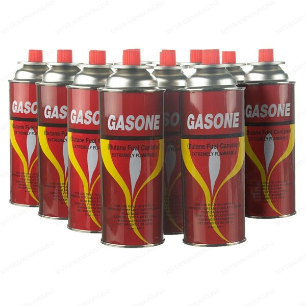 New Butane Fuel Gas Canisters Portable Camp Camping Stove Cartridge 1 24 Cans