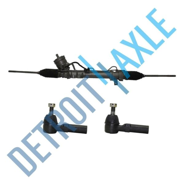 Complete Rack and Pinion Assembly 2 NEW Outer Tie Rods for Cadillac Buick $170.34