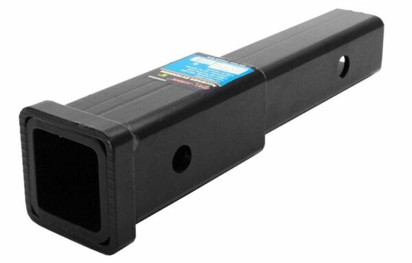 8quot; Hitch Extension Receiver Extender 2quot; Reciever Tube 5 8quot; Pin Hole FREE SHIPNG $23.99