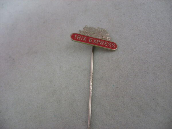 Vintage Foreign Mens Hat Stick Pin Jewelry: TRIX EXPRESS TRAIN
