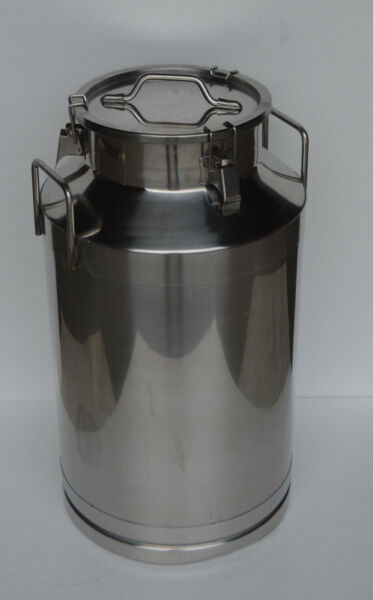 15.9 Gallon 60L Stainless Steel Wine&Milk Pail Beer Liquid vessel Home Storage