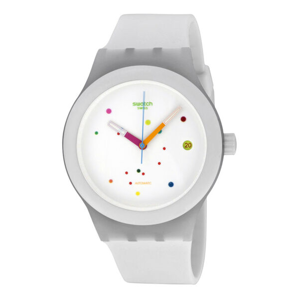 Swatch SISTEM WHITE Unisex Watch SUTW400