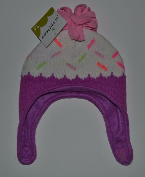 Jumping Beans Baby Cupcake Ice Cream Cone Hat Winter Fleece Lined Hat 0 6 mon
