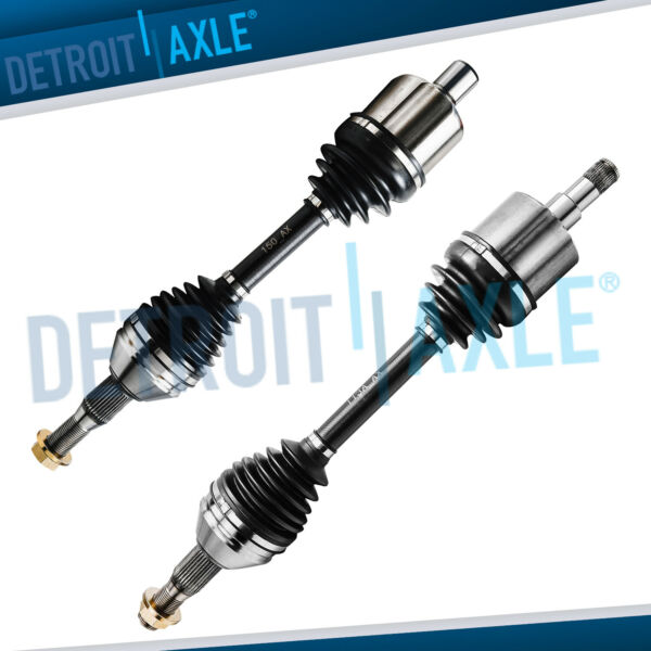 2 Front CV axle shaft Assembly 2000 - 2009 CHEVY IMPALA  WO Supercharged WO SS