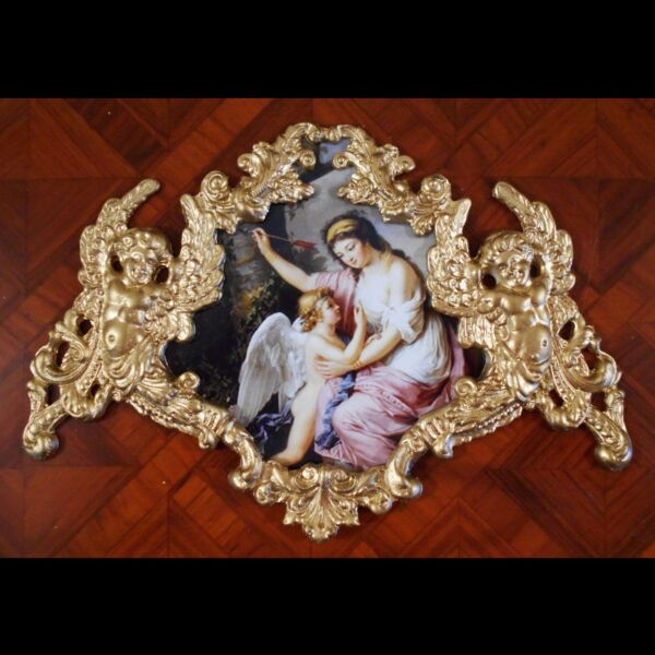 Eros and Woman by Lemoine.Faux ormolu.Furniture mountsdecor. $29.00