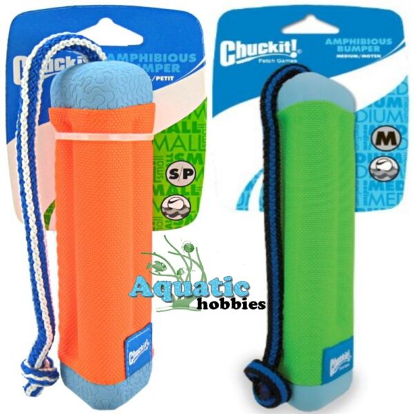Chuckit! Amphibious Bumper Float & Tug Toy For Dog & Puppy (CHOOSE SIZE)