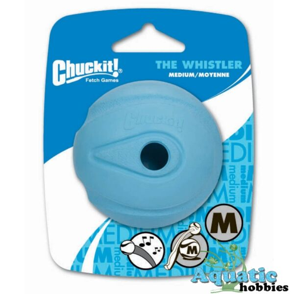 Chuckit! The Whistler Ball Launcher Compatible Fetch Toy Dog & Puppy CHOOSE SIZE