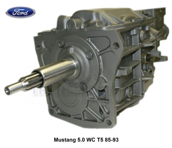 Mustang 5.0 T5 World Class 83-93 Rebuilt Transmission