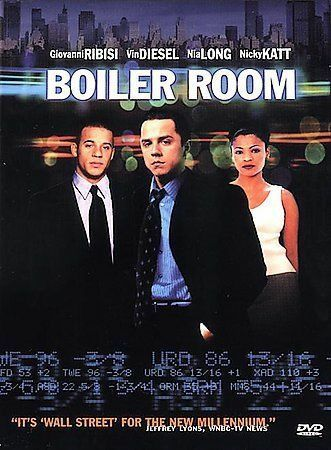 Boiler Room DVD Ben Younger DIR 2000 $3.80