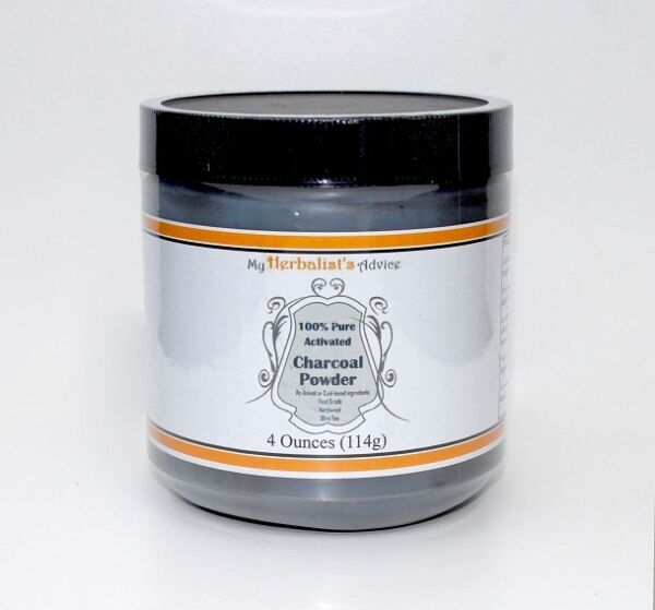 Activated Charcoal Powder 4 oz Pure Food Grade Ultra Fine Hardwood