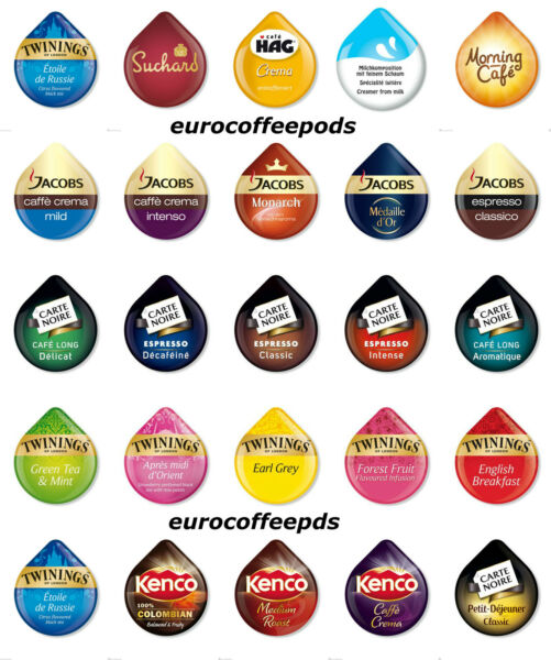 50 x Tassimo T-Disc - 38 Flavours To Select From Sold Loose Or Choose Your Own