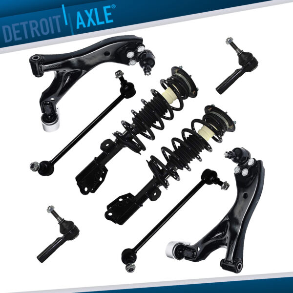 Front Lower Control Arm + Strut Suspension - Chevy Equinox Torrent Saturn Vue