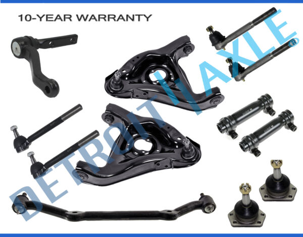 New 12pc Complete Front Suspension Kit for Chevy Blazer S10 GMC Jimmy - 2WD