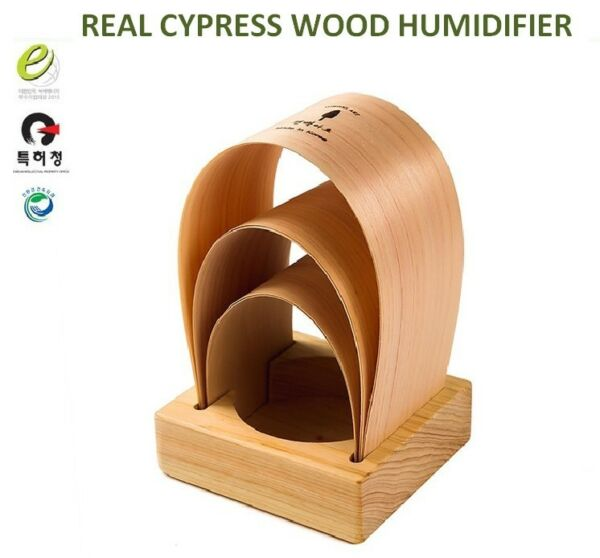 Real Cypress Wood Humidifier Phytoncide Defusser For Green Shower Atopic Free $34.50