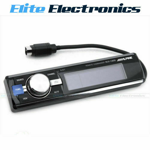 ALPINE RUX-C800 IN-DASH FULL CONTROLLER FOR PXA-H800 WIRED REMOTE OLED DISPLAY