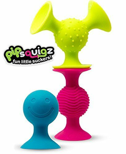 Fat Brain Toys pipSquigz Suction Building Set Preschool Developmental Game