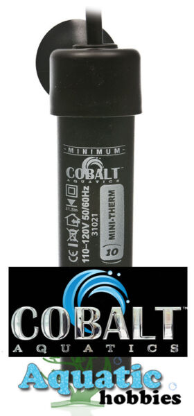 Cobalt Aquatic Mini Therm 20 W Submersible Aquarium Heater Aquarium upto 4.8 gal