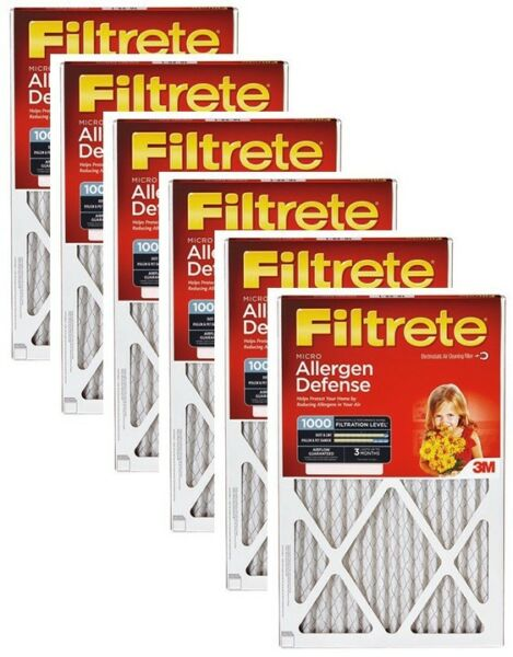 6 3M FILTRETE 9803-6 RED 20