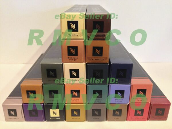 NEW NESPRESSO COFFEE CAPSULES PODS *All Flavor Blends Available* FREE SHIPPING!!