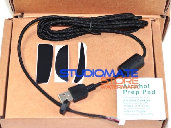 Replacement Repair Kits Mice Mouse USB Cable Line For Logitech G9 G9X Feet Skate $11.50