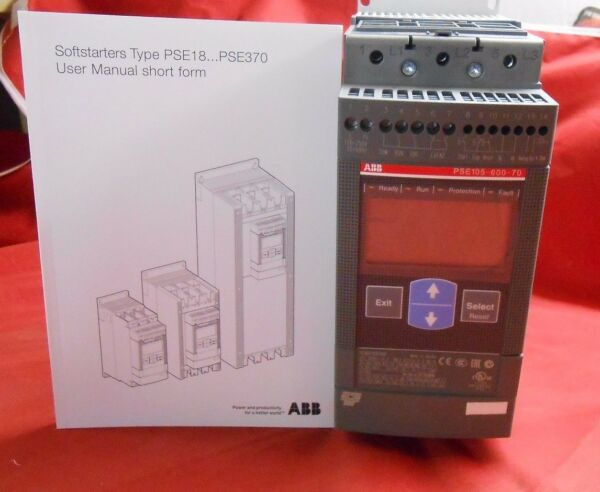 ABB  PSE105-600-70 1SFA897109R7000 105Amp SOFT START - NEW FREE SHIPPING