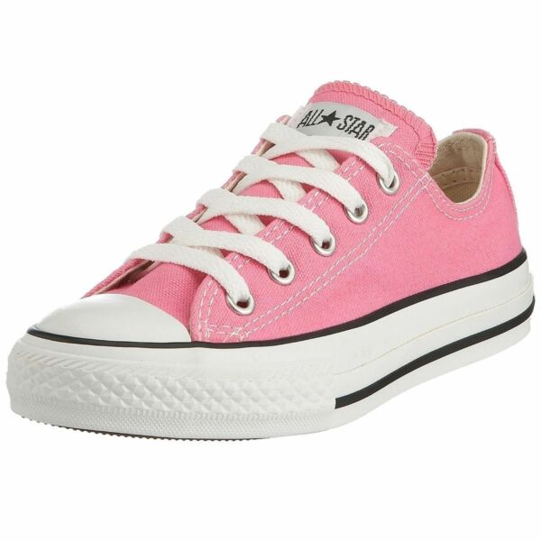 Converse Shoes Pink All Star Chuck Taylor Ox 3J238 Sneakers Kids Girls Youth NEW
