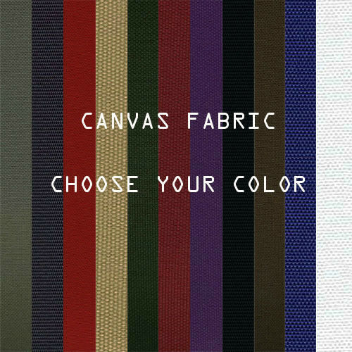 Outdoor Canvas Waterproof Fabric 600 Denier Blocks Heat and Reduce Glare 24color