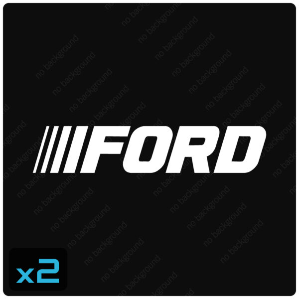 Qty2 FORD Decals Stickers, TRUCK MUSTANG F150 FUSION SUPER DUTY SPORT CAR