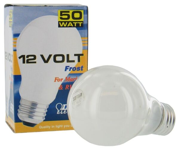 Feit Electric 50a 12 Rp 50 Watt 12 Volt Frosted Rough ServiceNo 50A 12 RP $6.70