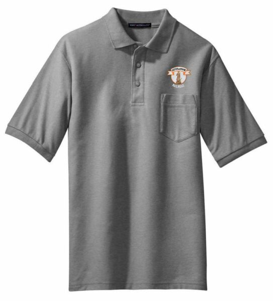 Boston and Maine Minuteman Logo Embroidered Polo [65]