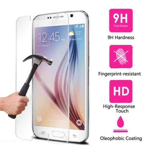 New Premium Real Tempered Glass Screen Protector for Samsung S5 S6 S7 wholesale