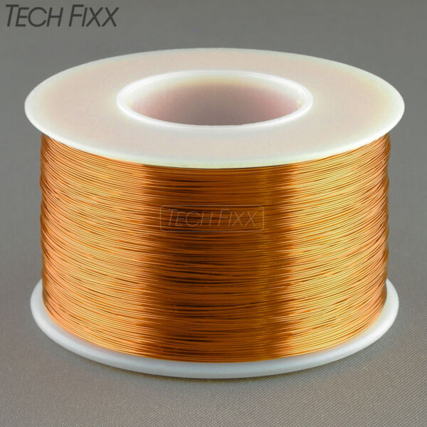 Magnet Wire 34 Gauge AWG Enameled Copper 3930 Feet Coil Winding 200C