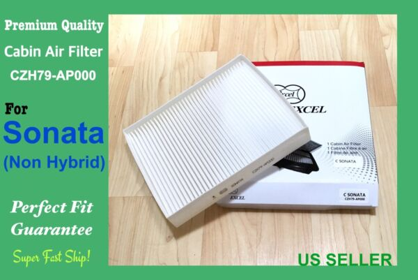 Cabin Air Filter For 2015 2019 Sonata And Sonata Hybrid 19 OEM QUALITY US Seller $7.75