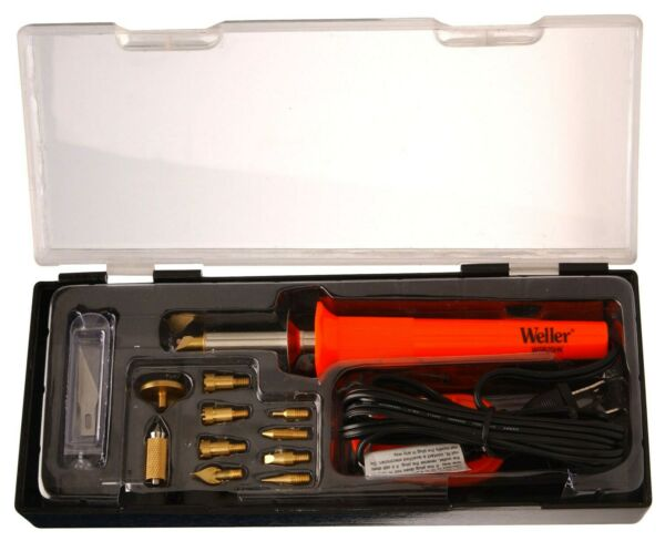 Weller Wsb25wb 15 Piece 25 Watt Short Barrel Woodburning KitNo WSB25WB