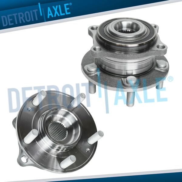 Pair 2 REAR Wheel Hub and Bearing Assembly for Santa Fe Veracruz AWD ONLY $79.13